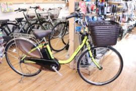 人気の電動アシスト自転車!パナソニック ビビDX 2020年モデル